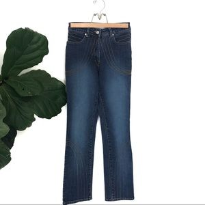 Vintage Azzure Ultra High Rise Denim Boho Jeans!
